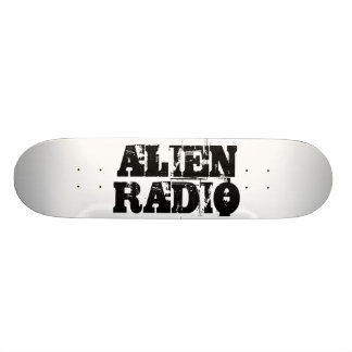 "alien radio ""text "" skateboard deck"