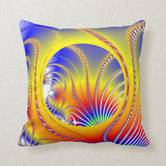 Alien Realm Throw Pillow Cushions
