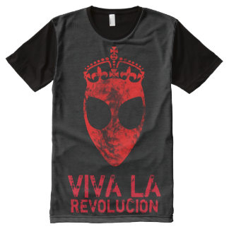 Alien Revolution All-Over Print T-Shirt