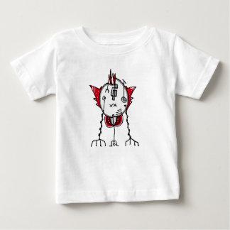 Alien Robot Hand Draw Illustration Baby T-Shirt