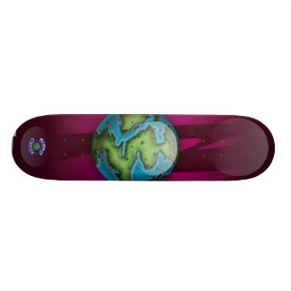 Alien s Board - Planet Cazmo Skate Board Decks