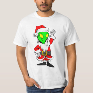 alien Santa Claus T-Shirt