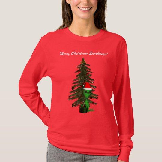 Alien Santa T-Shirt