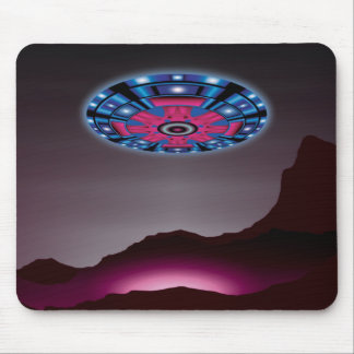 Alien Ship & Twilight Reflections Mousepads