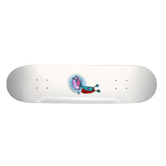 Alien Sister Relaxing in inner tube Custom Skateboard