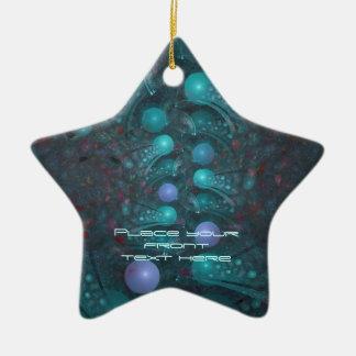 Alien Skin 001 Ceramic Star Decoration