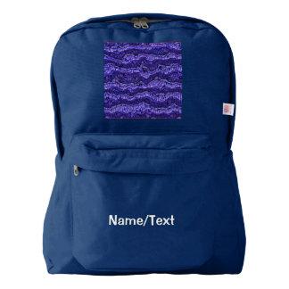 alien skin blue backpack