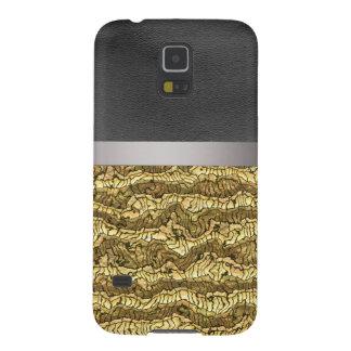 alien skin golden galaxy s5 case
