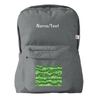 alien skin green backpack