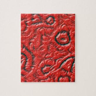 Alien skin jigsaw puzzle