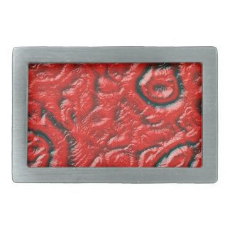 Alien skin rectangular belt buckle