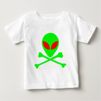 Alien Skull & Bones Baby T-Shirt