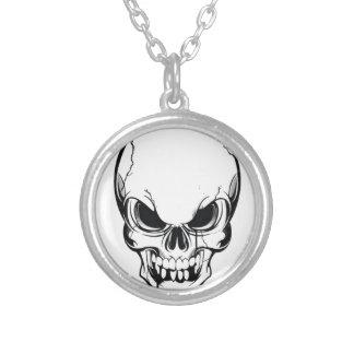 Alien skull necklaces