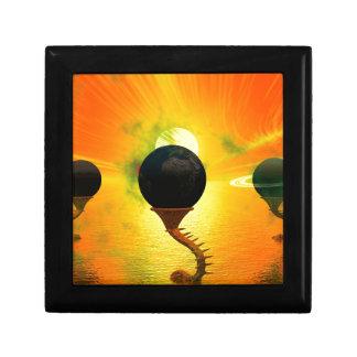 Alien Small Square Gift Box
