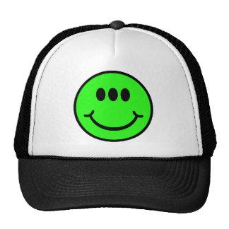 Alien Smiley - 3 Eyes Cap