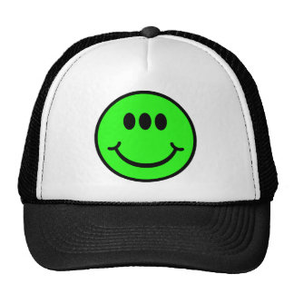 Alien Smiley - 3 Eyes Trucker Hats