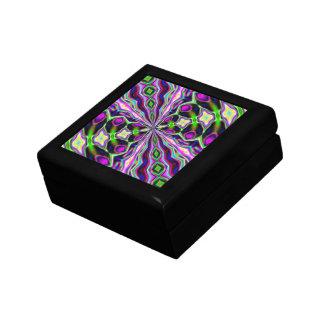 Alien Snake Skin Small Square Gift Box