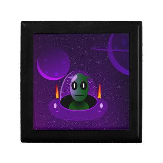 Alien space gift box