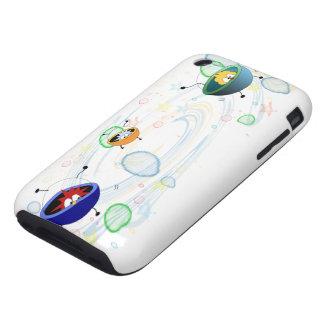 Alien Space Patrol TOUGH iPhone 3 Case