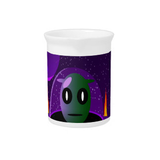 Alien space pitcher