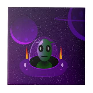 Alien space tile