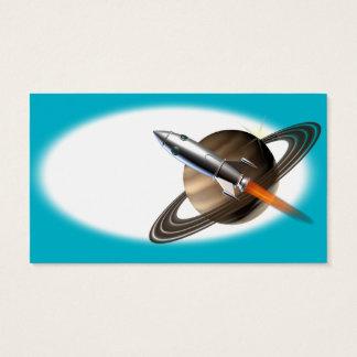 Alien Spaceship Business Card