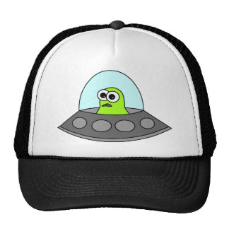 Alien Spaceship Cap