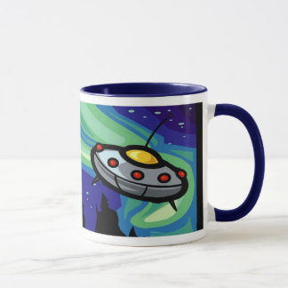 Alien Spaceship Mug 1