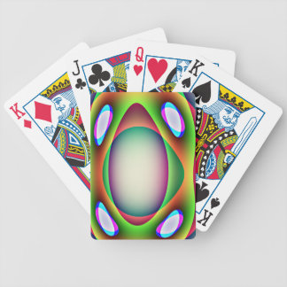 Alien Spaceship Playing Cards