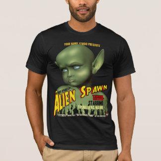Alien Spawn B-Movie Poster T-Shirt