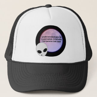 Alien Speed Joke.png Trucker Hat