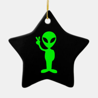 Alien Star Ornament