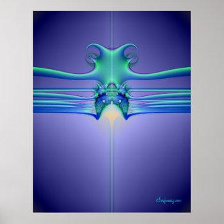 Alien Stingray Poster