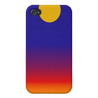 Alien Sunset iphone 4 Speck Case iPhone 4 Cover