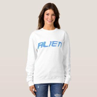 alien sweatshirt blue