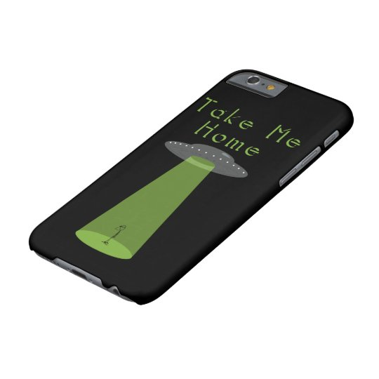 "Alien ""Take me home"" quote Barely There iPhone"