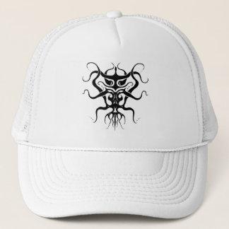 Alien Tribal Tattoo Species 273 black and white Trucker Hat