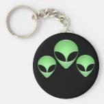 Alien Trio Keychain
