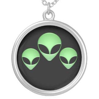Alien Trio Necklace