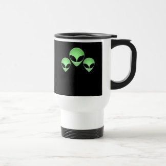 Alien Trio Plastic Travel Mug