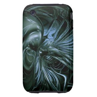 Alien Trippy Acid Tough iPhone 3 Case