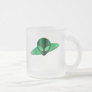 Alien UFO Frosted Mug