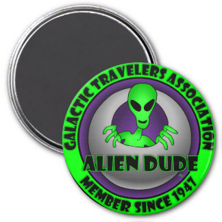 Alien & UFO Keychains & Flair Refrigerator Magnets