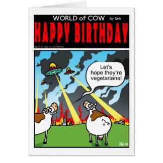 Alien Vegetarians? Card