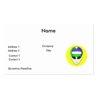 alien volleyball extreme sports design pack of standard business cards