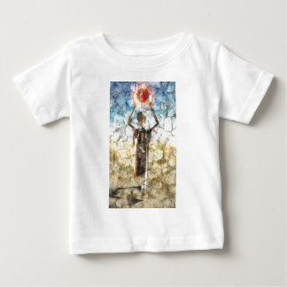 Alien Wall Painting Baby T-Shirt