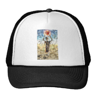 Alien Wall Painting Hat