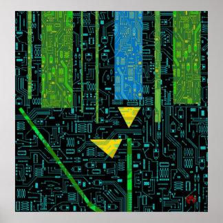 Alien-ware Poster