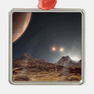 Alien World Christmas Ornament