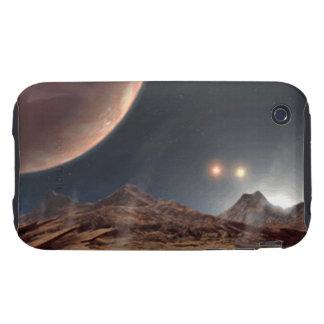 Alien World iPhone 3 Tough Case